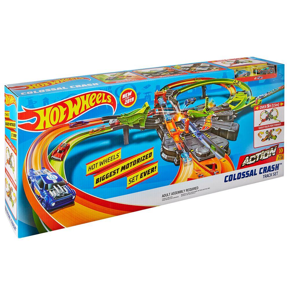 Pista Hot Wheels Action Colosal Crash imagine hippoland.ro