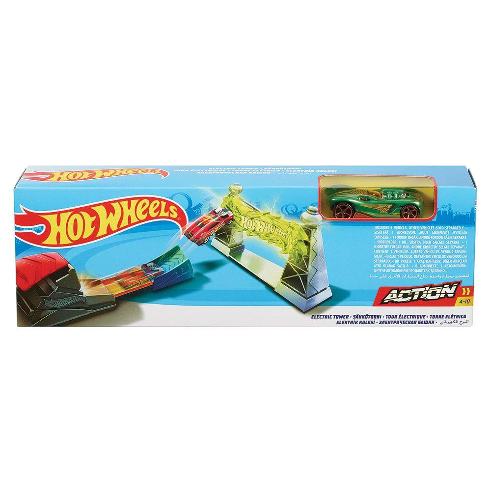 Pista Hot Wheels Stunt Trackset diverse modele imagine hippoland.ro