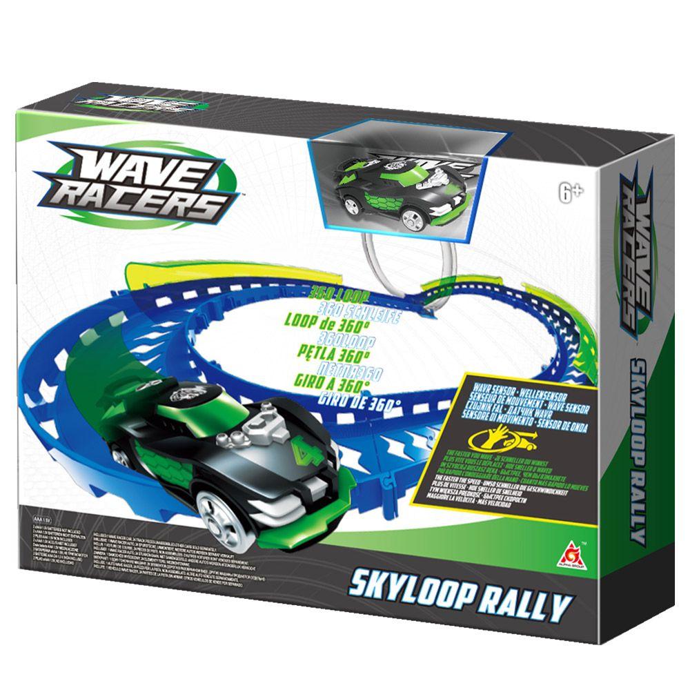Pista pentru masinute Wave Racers Skyloop Rally imagine hippoland.ro
