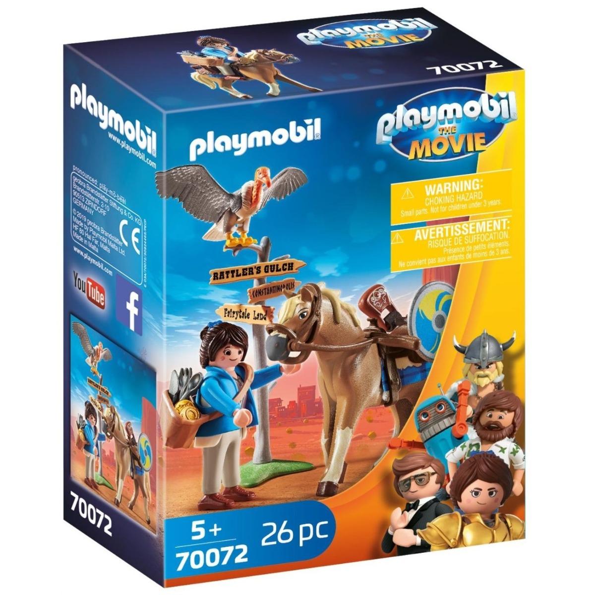 Playmobil PM70072 Marla Cu Cal imagine hippoland.ro
