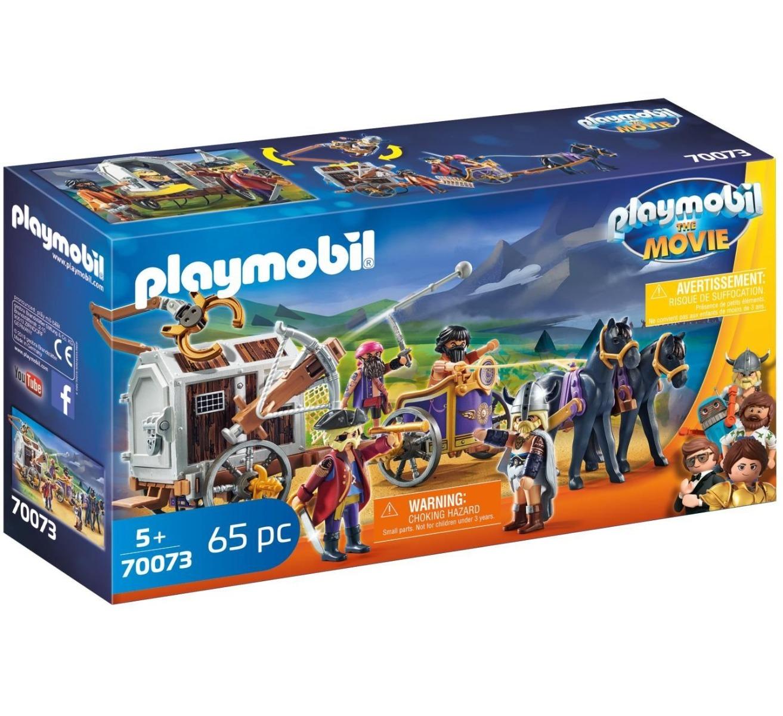 Playmobil PM70073 Charlie Si Inchisoare Trasa De Cai