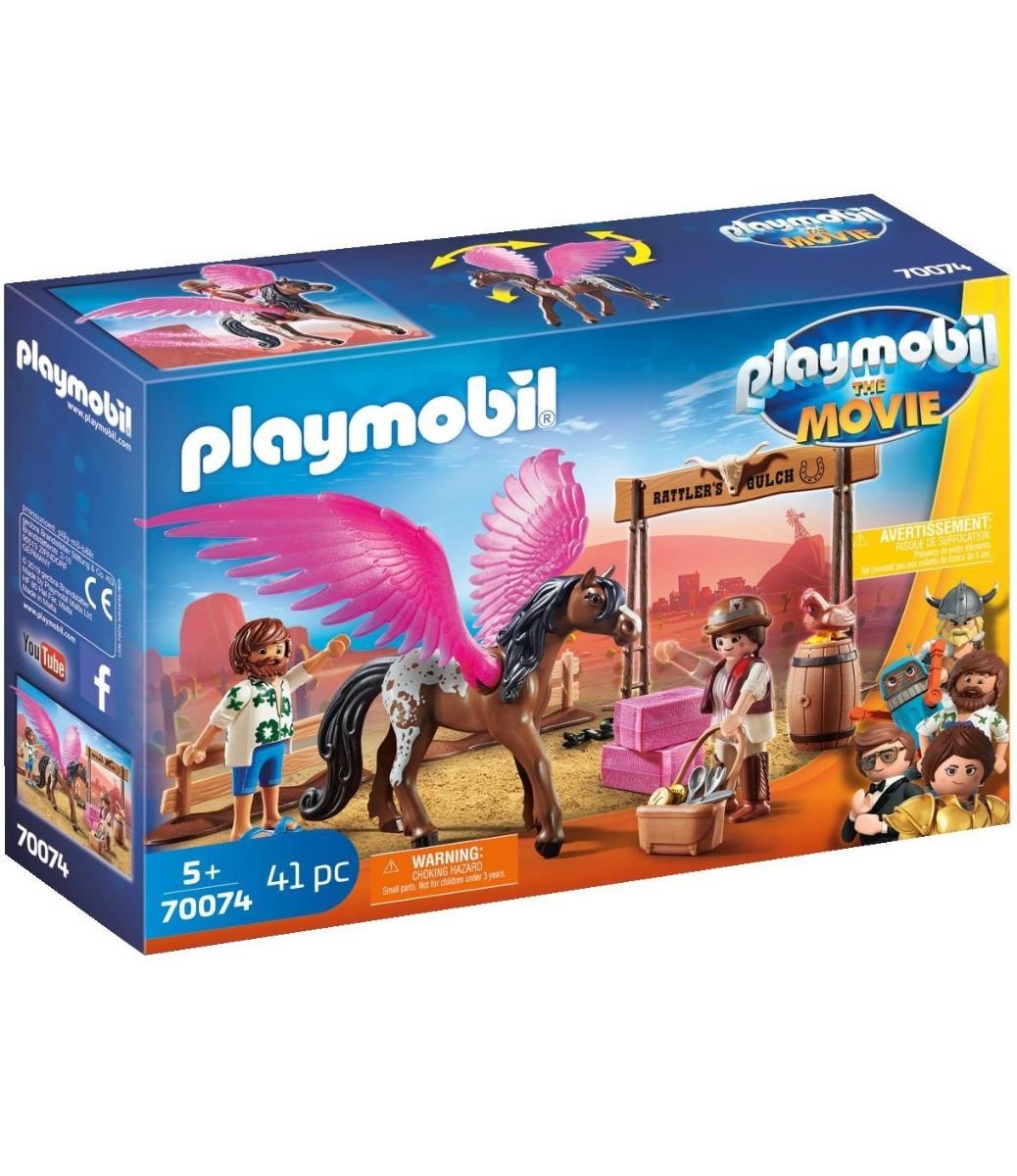 Playmobil PM70074 Marla, Del Si Calul Inaripat imagine hippoland.ro
