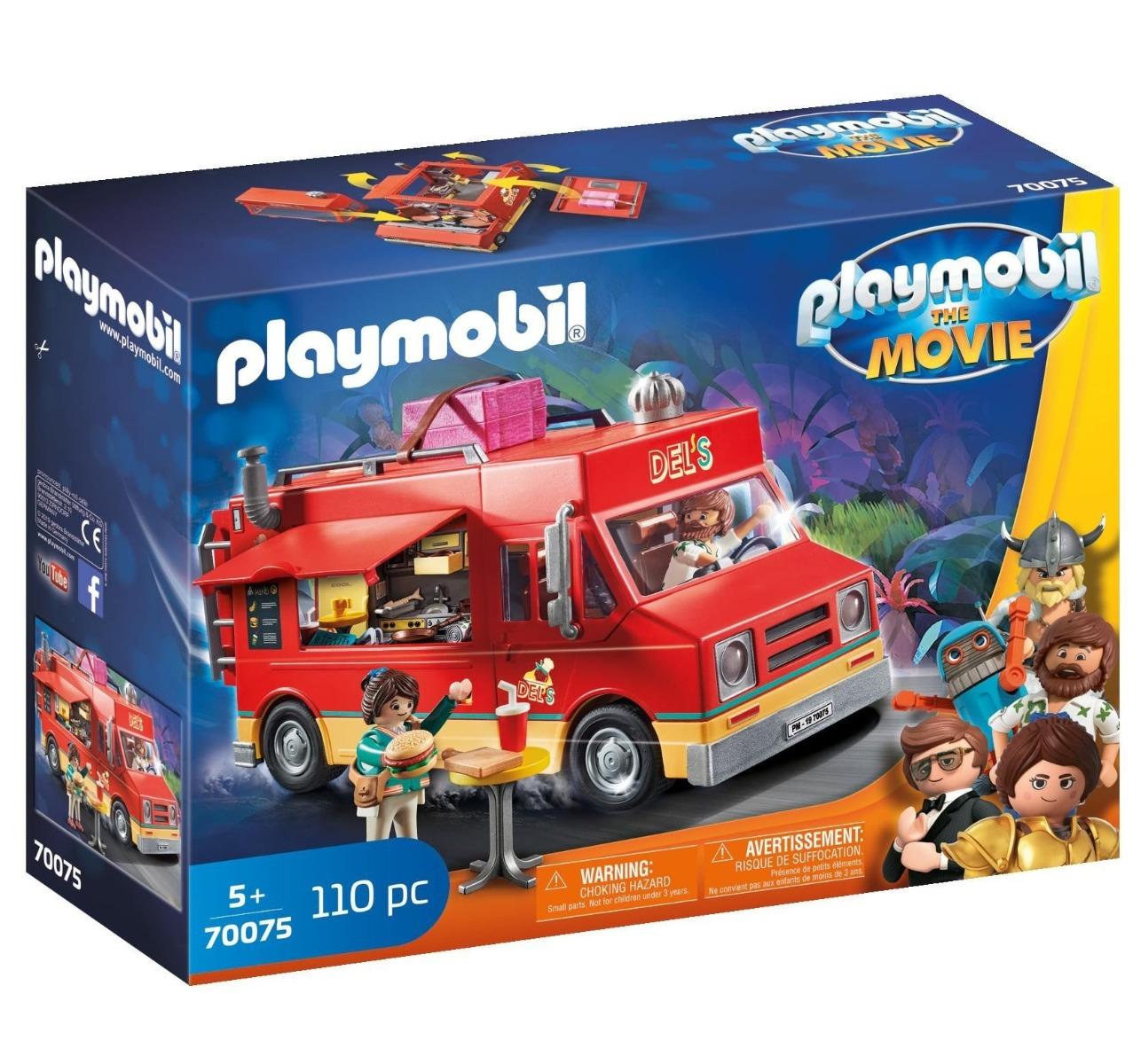 Playmobil PM70075 Camionul Cu Mancare Al Lui Del imagine hippoland.ro