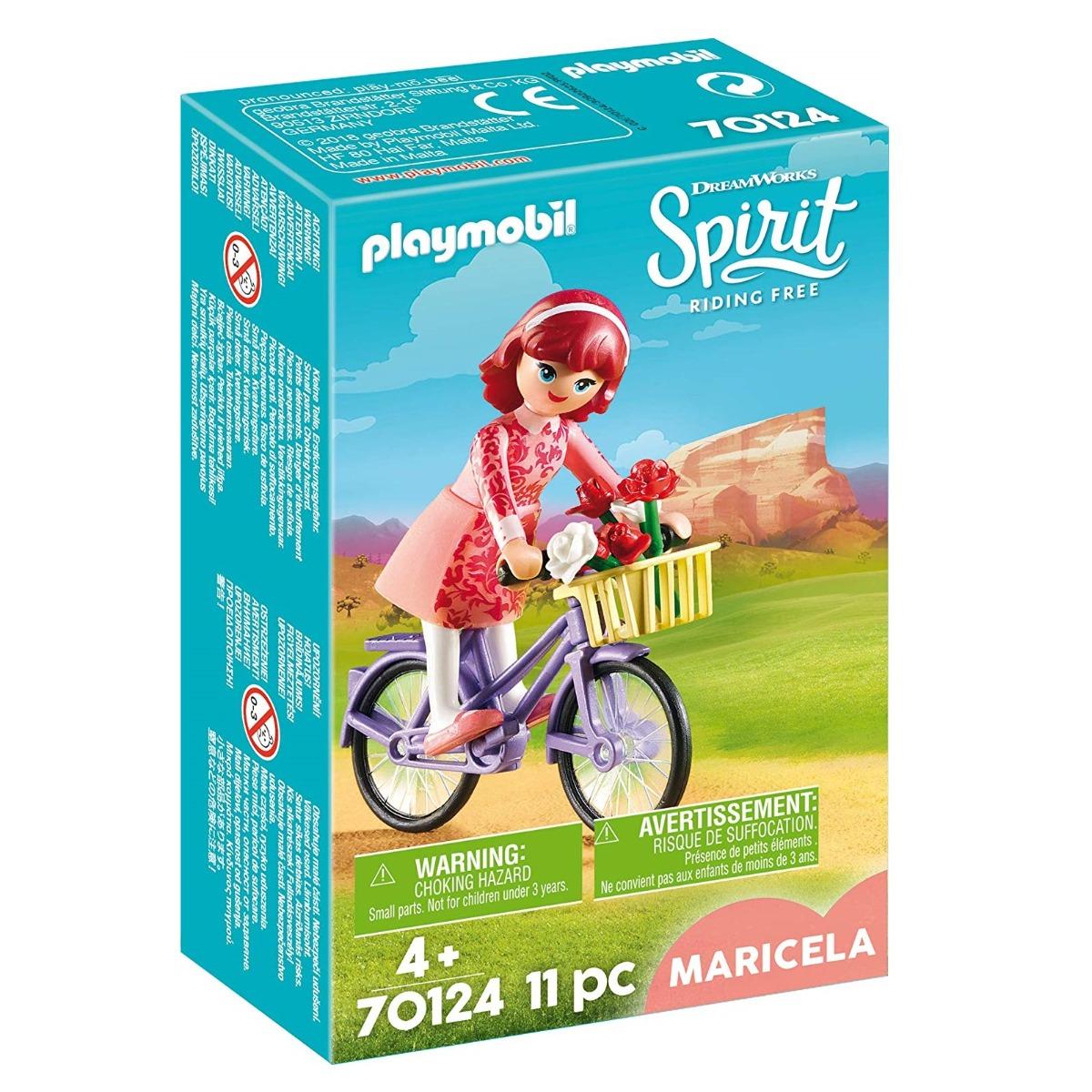 Playmobil PM70124 Maricela si bicicleta imagine hippoland.ro