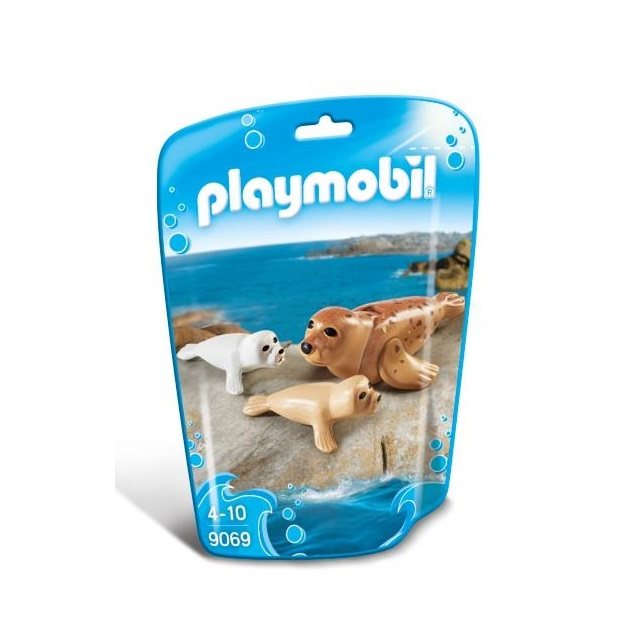 Playmobil PM9069 Foca Si Puii Sai imagine hippoland.ro