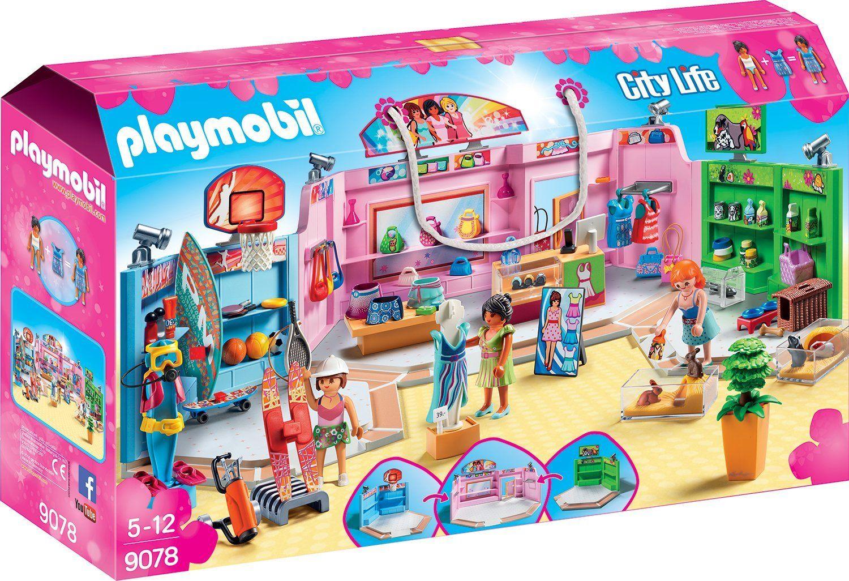 Playmobil PM9078 Centru Comercial imagine hippoland.ro