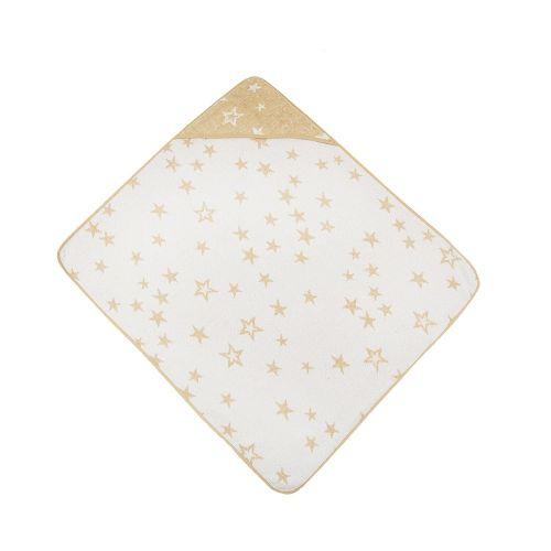 Prosop 80 x 90 Kikka stars beige imagine hippoland.ro