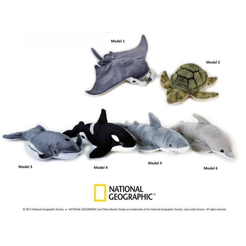Pui animal oceanic de plus National Geografic 23 cm imagine hippoland.ro