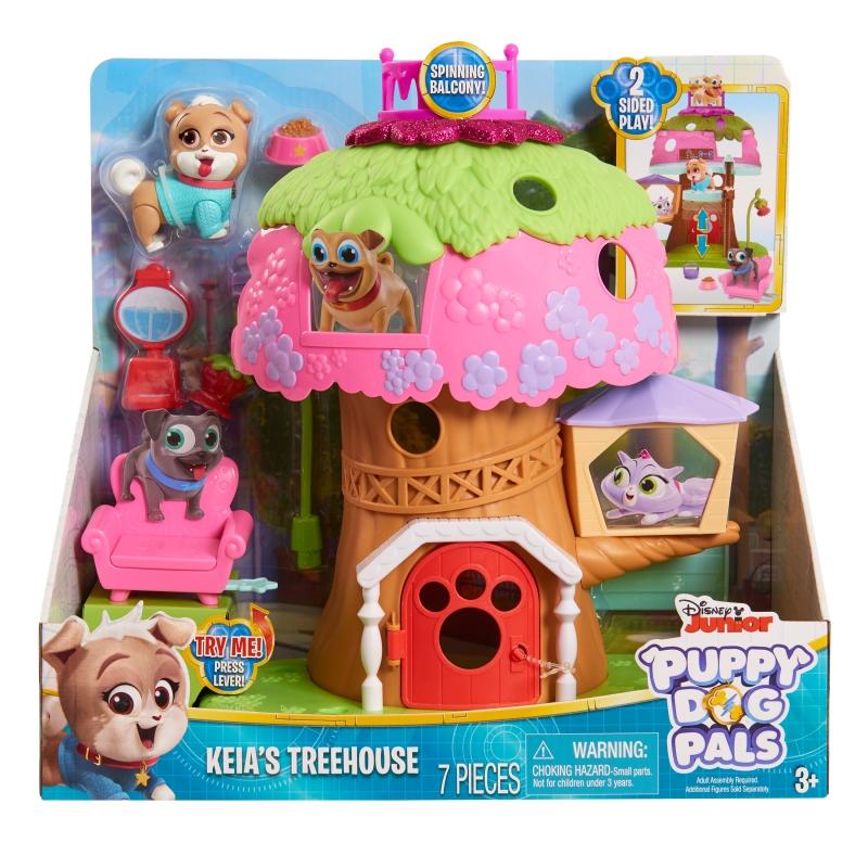 Puppy Dog Pals Casuta din Copac set de joaca imagine hippoland.ro