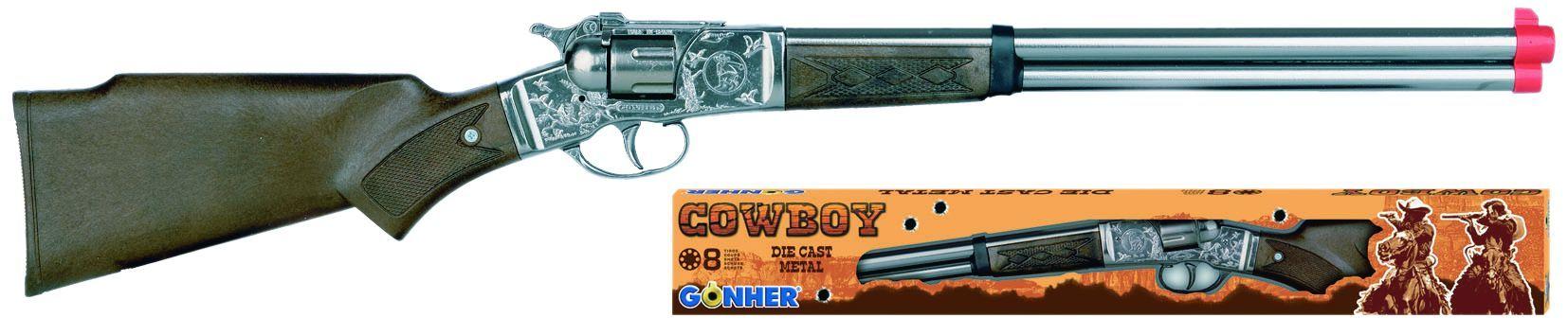 Pusca de cowboy cu capse Gonher imagine hippoland.ro