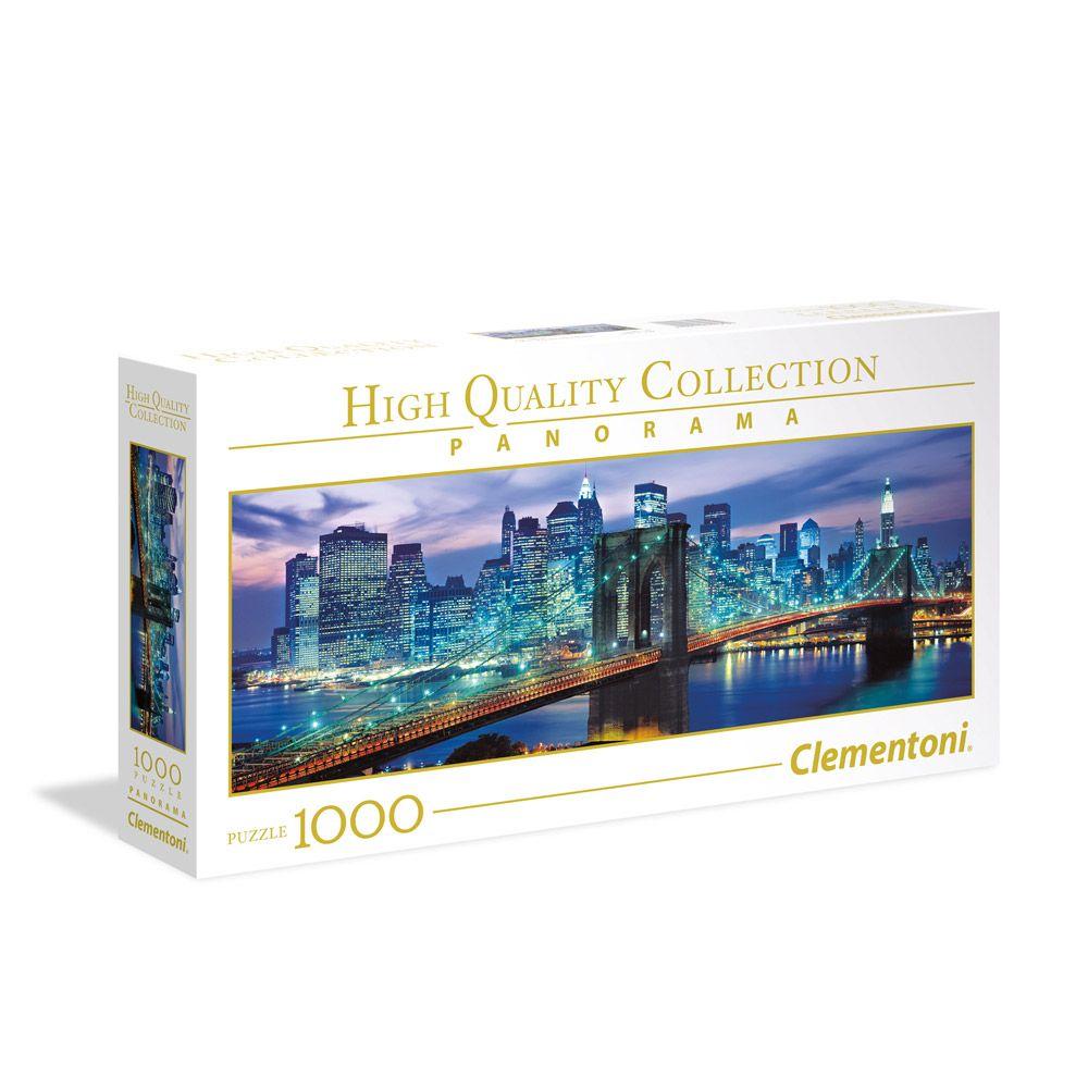 Puzzle 1000 piese Clementoni Brooklyn Bridge imagine hippoland.ro