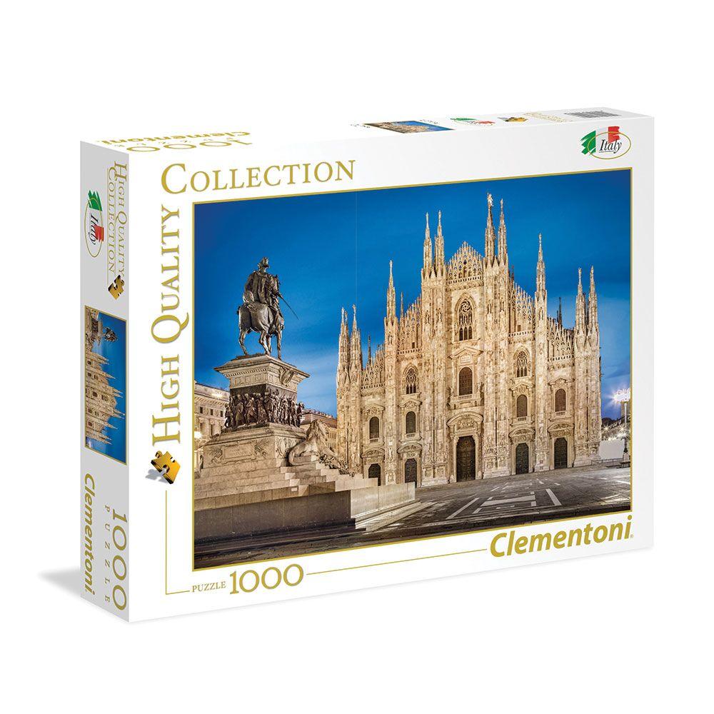 Puzzle 1000 piese Clementoni Milan imagine hippoland.ro