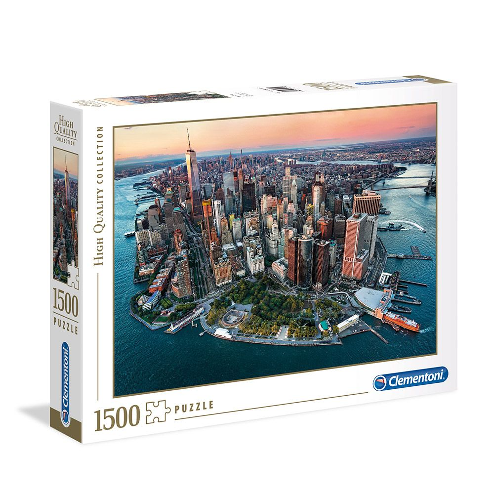 Puzzle 1500 piese Clementoni High Quality Collection New York imagine hippoland.ro