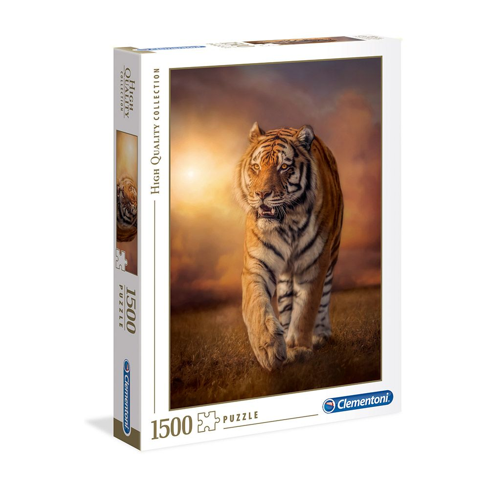 Puzzle 1500 piese Clementoni High Quality Collection Tiger imagine hippoland.ro