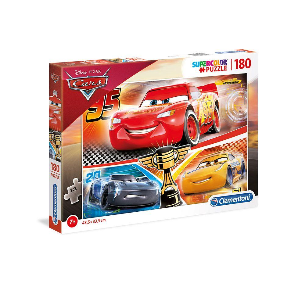 Puzzle 180 piese Clementoni Cars 3 imagine hippoland.ro