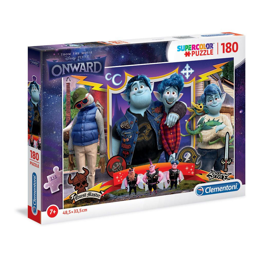 Puzzle 180 piese Clementoni Disney Onward imagine hippoland.ro