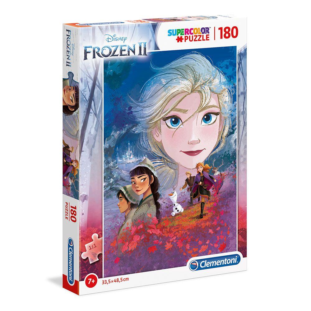 Puzzle 180 piese Clementoni Frozen 2 imagine hippoland.ro