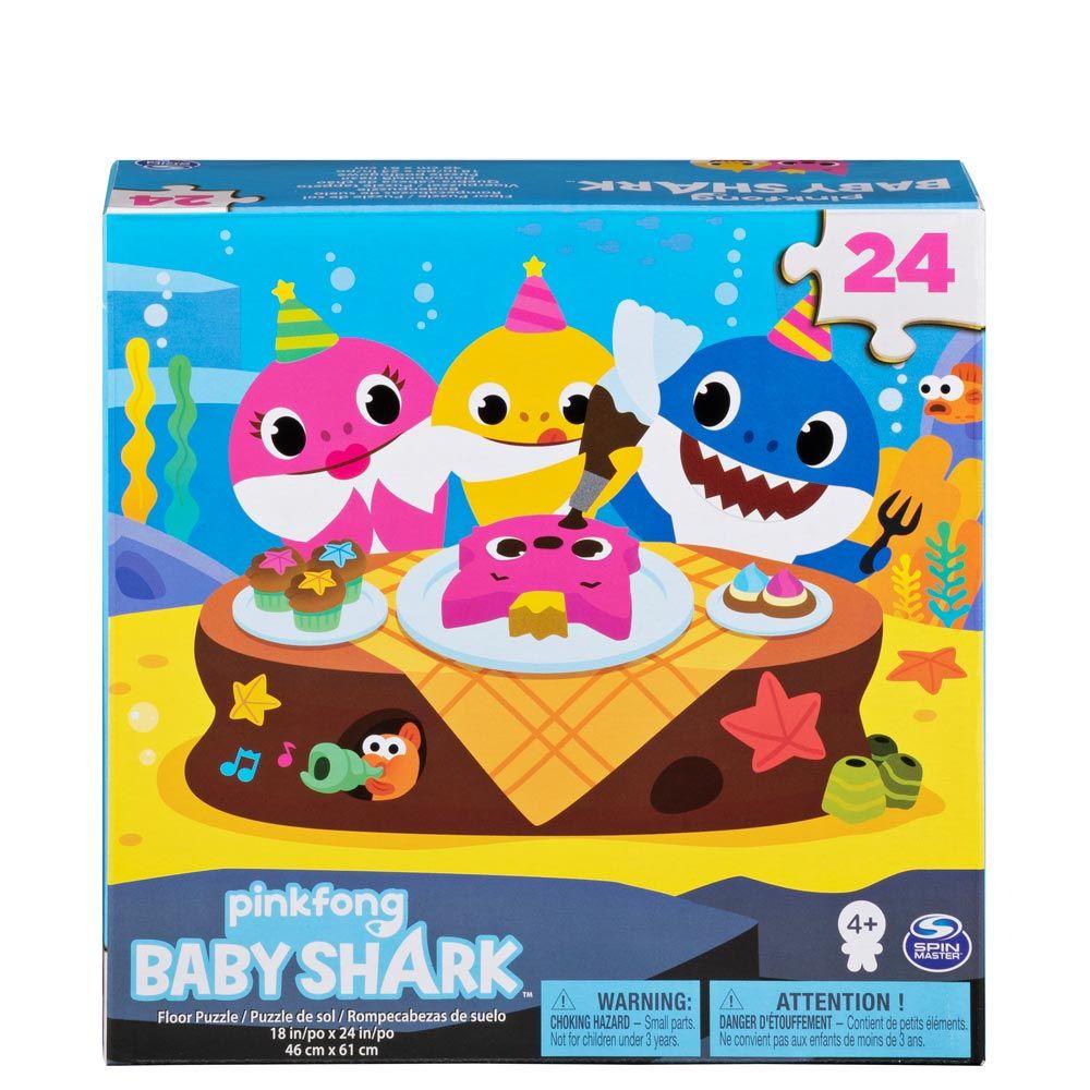 Puzzle 24 piese Baby Shark imagine hippoland.ro