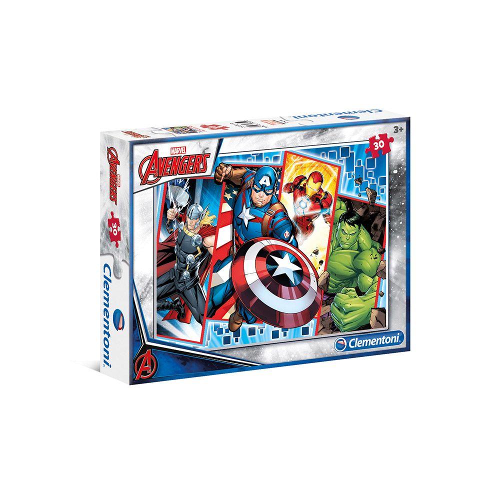 Puzzle 30 piese Clementoni The Avengers imagine hippoland.ro