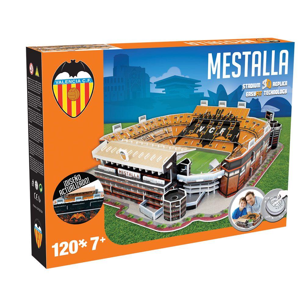 Puzzle 3D stadion Nanostad Mestalla Valencia imagine hippoland.ro