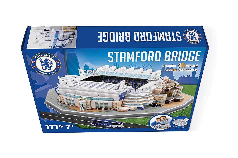 Puzzle 3D stadion Nanostad Stamford Bridge Chelsea imagine hippoland.ro
