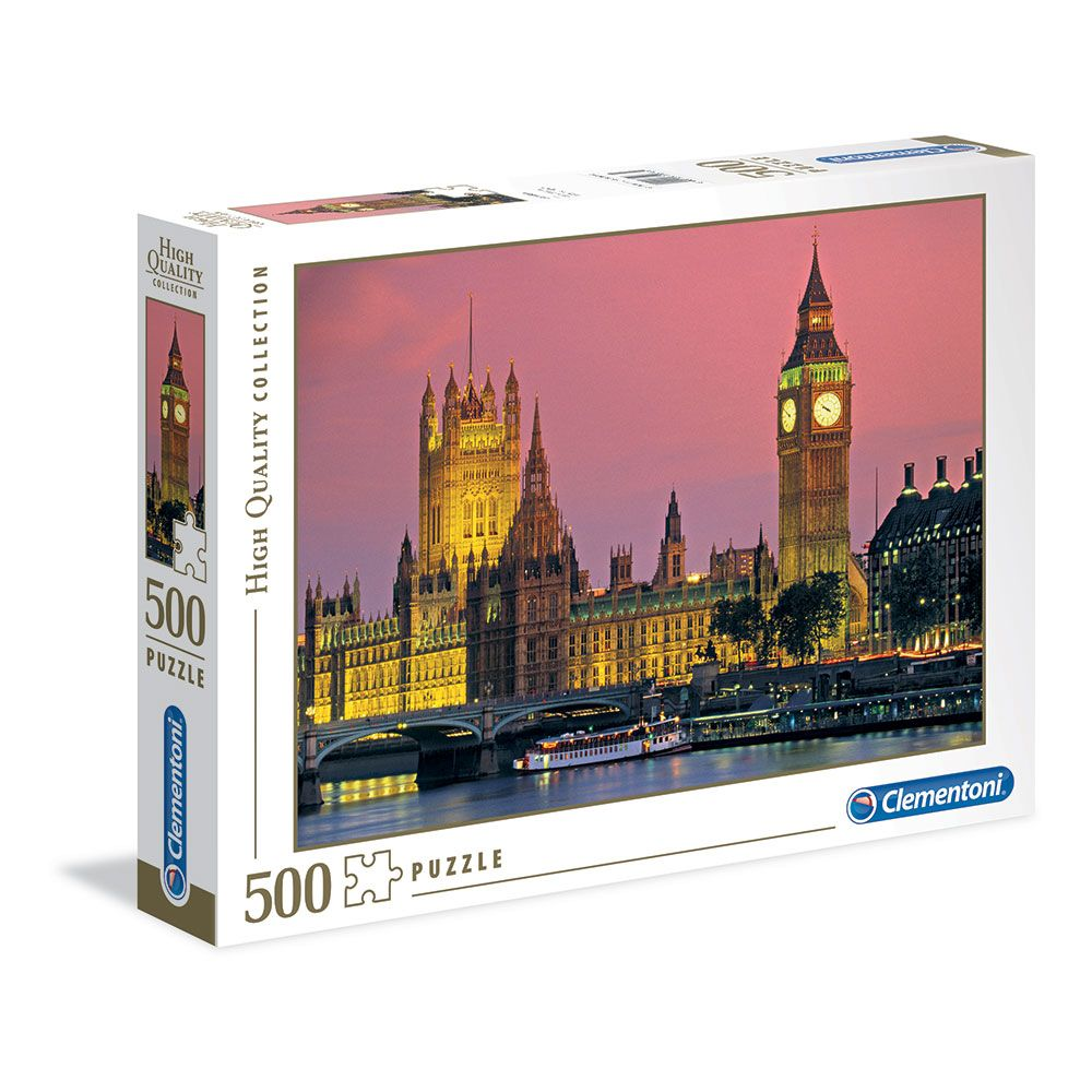 Puzzle 500 piese Clementoni London imagine hippoland.ro