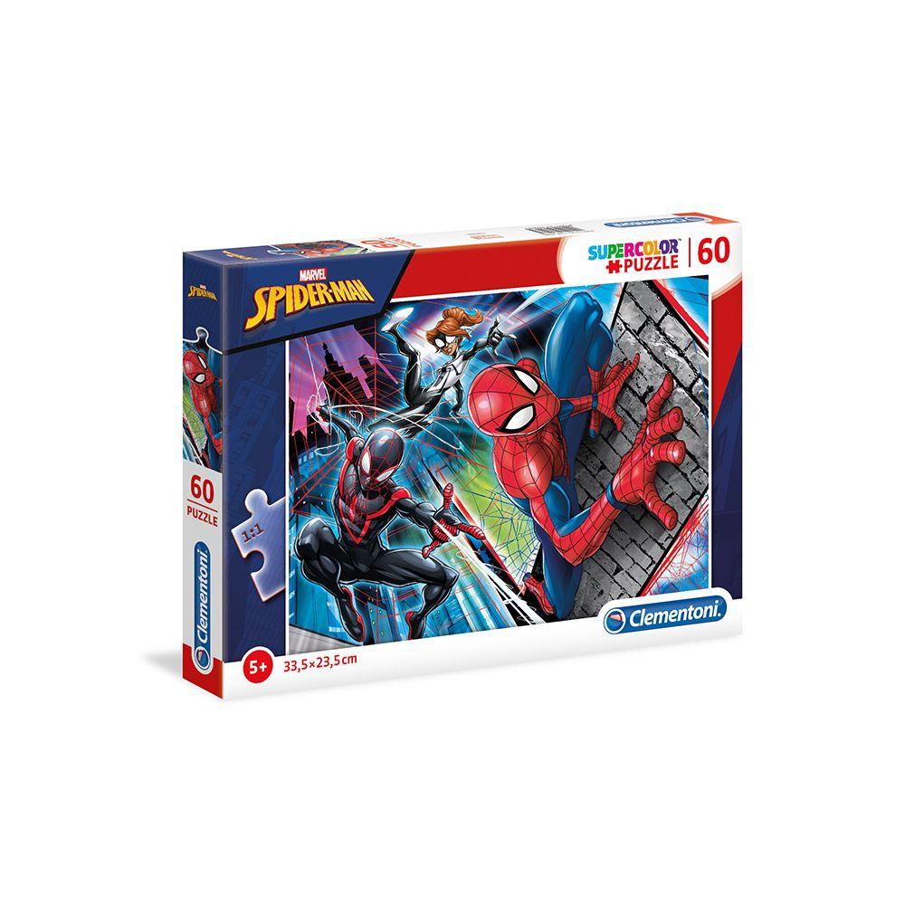 Puzzle 60 piese Clementoni Spiderman 26048 imagine hippoland.ro
