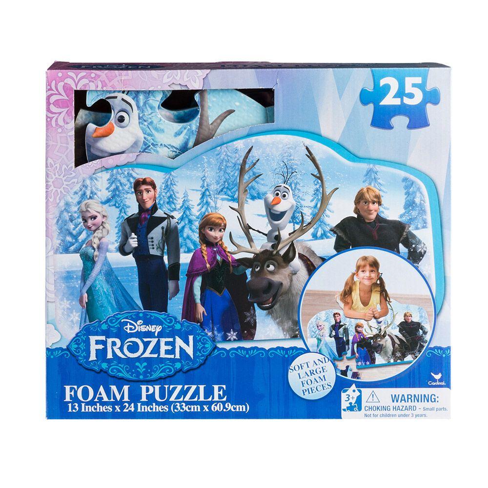 Puzzle spuma Cardinal Frozen imagine hippoland.ro