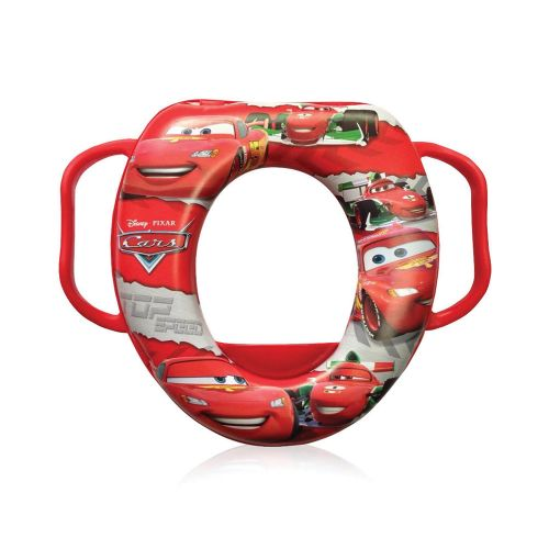 Reductor pentru toaleta soft Lorelli Disney Cars red imagine hippoland.ro