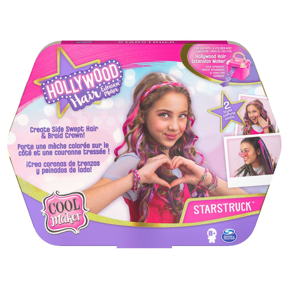 Rezerva pentru studio extensii de par Cool Maker Hollywood Hair imagine hippoland.ro