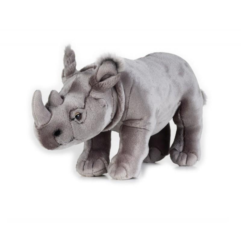 Rinocer de plus National Geografic 34 cm imagine hippoland.ro