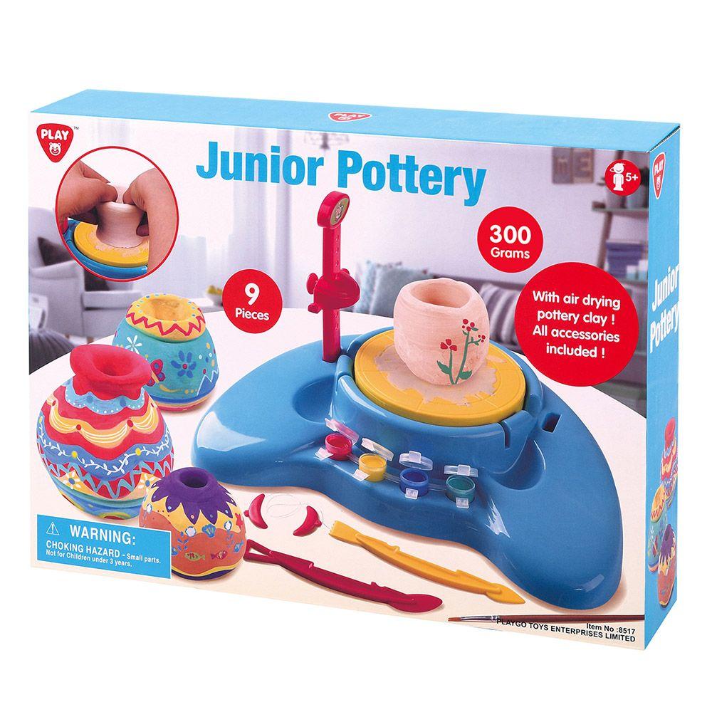 Roata Olarului PlayGro Pottery Wheel Junior imagine hippoland.ro