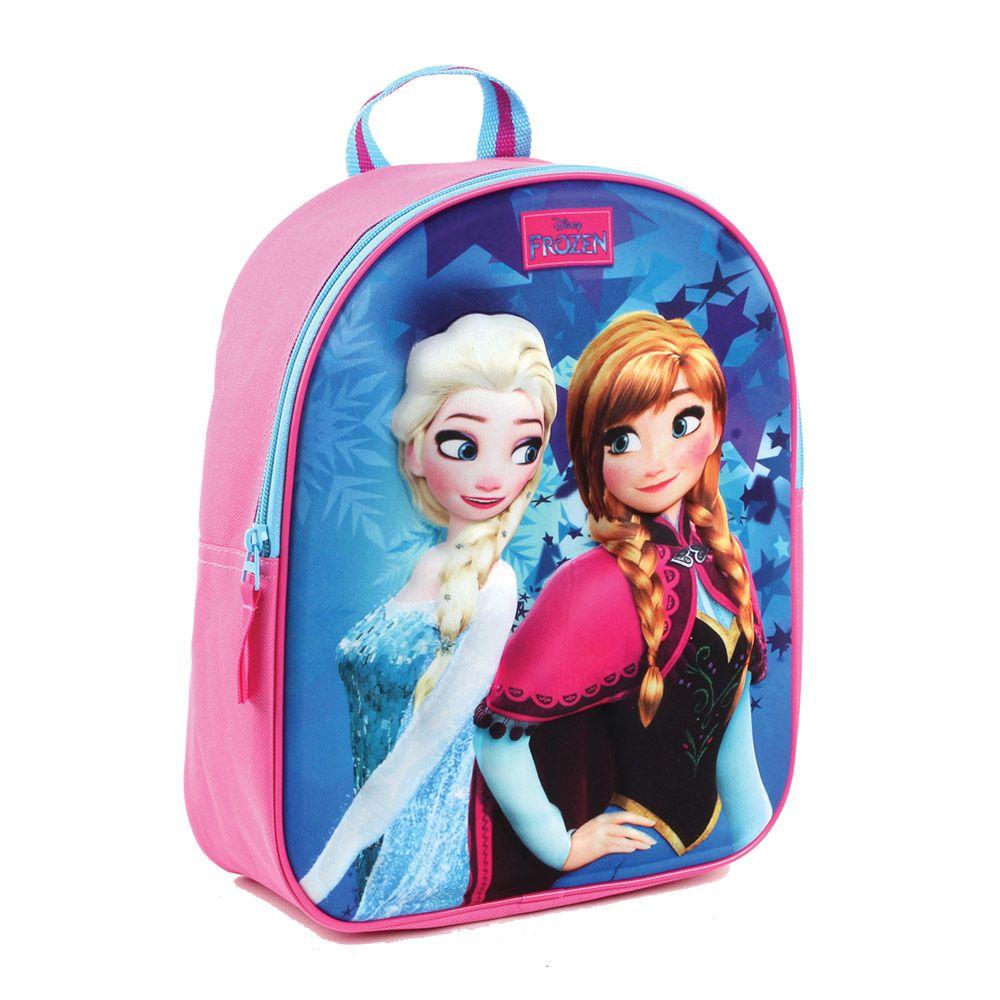Rucsac cu design 3D Disney Frozen imagine hippoland.ro