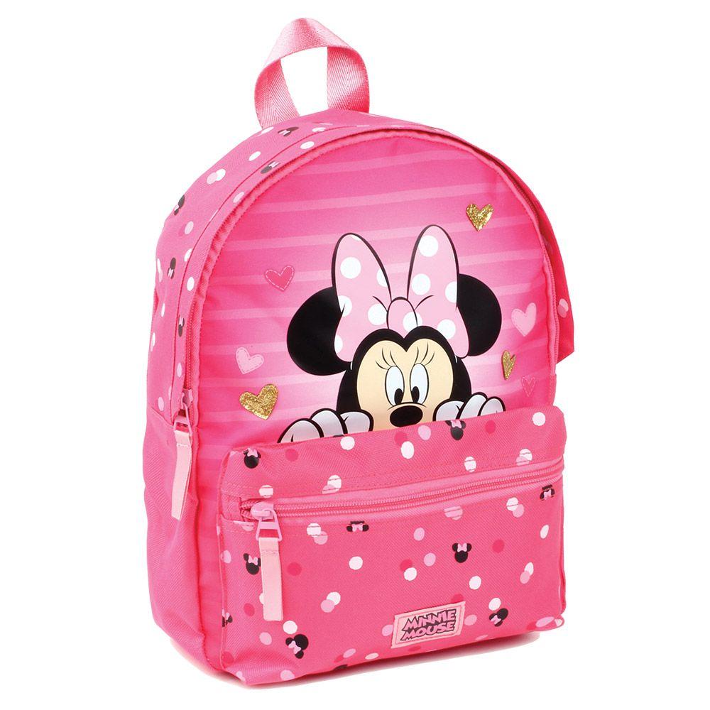 Rucsac gardinita Disney Minnie Mouse pink imagine hippoland.ro