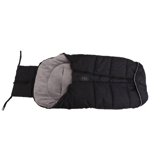 Sac de dormit pentru carucior Cangaroo Fluffy black imagine hippoland.ro