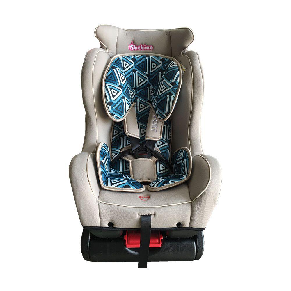 Scaun auto Bebino Comfort Beige/Turcoaz 0-25 kg imagine hippoland.ro