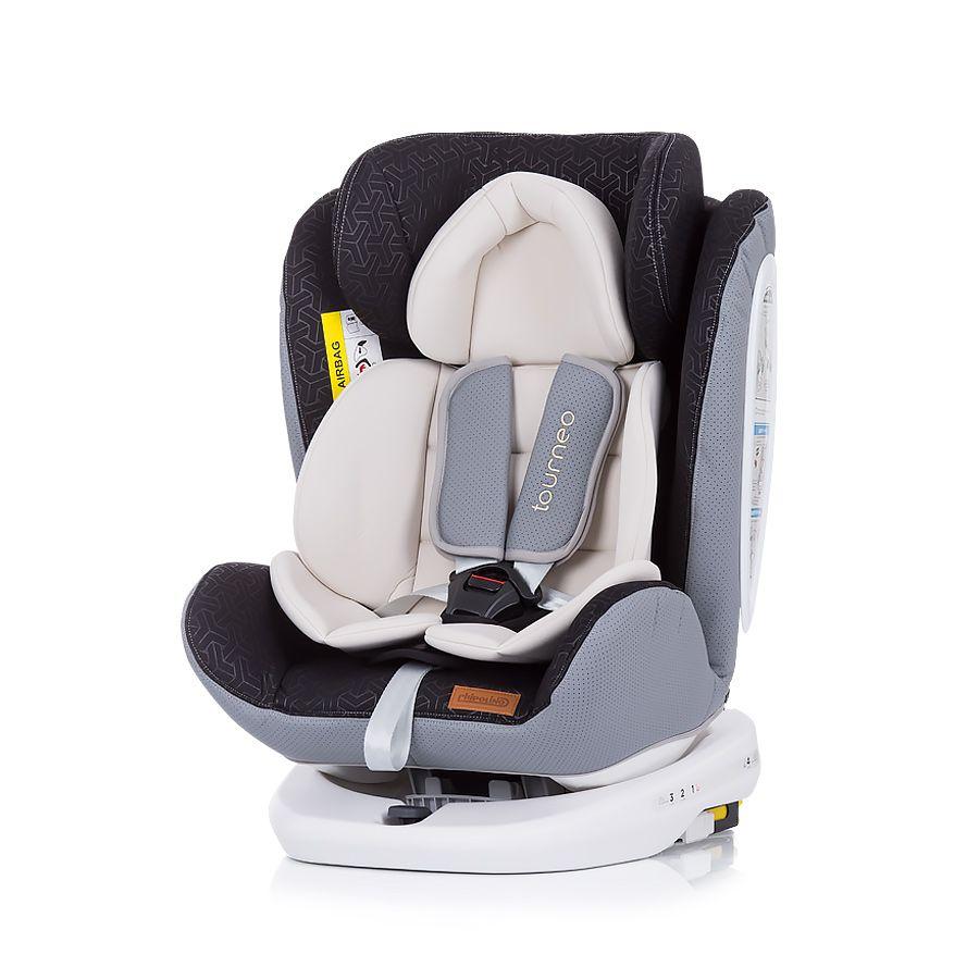 Scaun auto cu isofix Chipolino Tourneo 2020 cream 0-36 kg imagine hippoland.ro