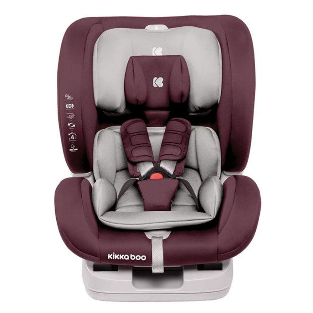 Scaun auto cu isofix Kikka 4 in 1 2020 Raspberry 0-36 kg imagine hippoland.ro