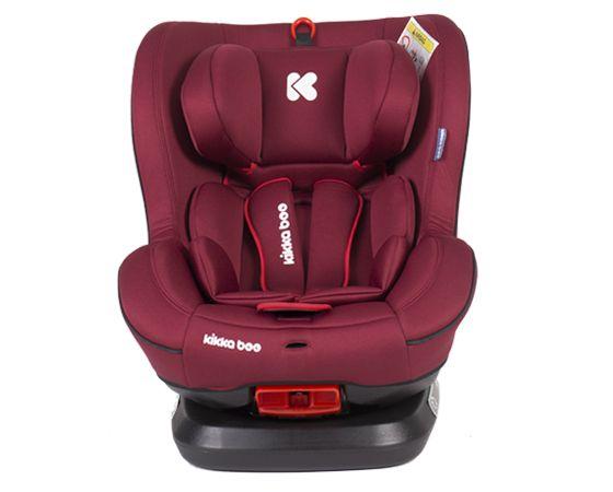 Scaun auto cu isofix Kikka Twister red 0-25 kg imagine hippoland.ro