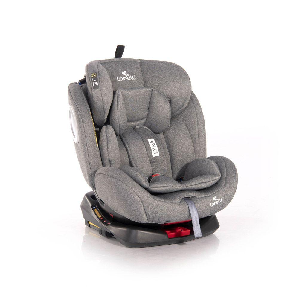 Scaun auto cu isofix Lorelli Lyra 2020 Grey 0-36 kg
