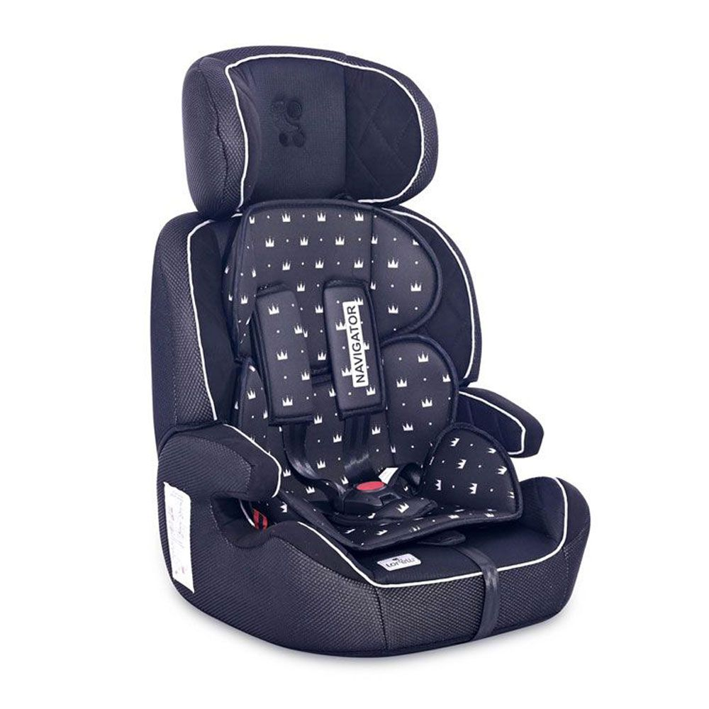 Scaun auto Lorelli Navigator 2021 Black Crowns 9-36 kg imagine hippoland.ro