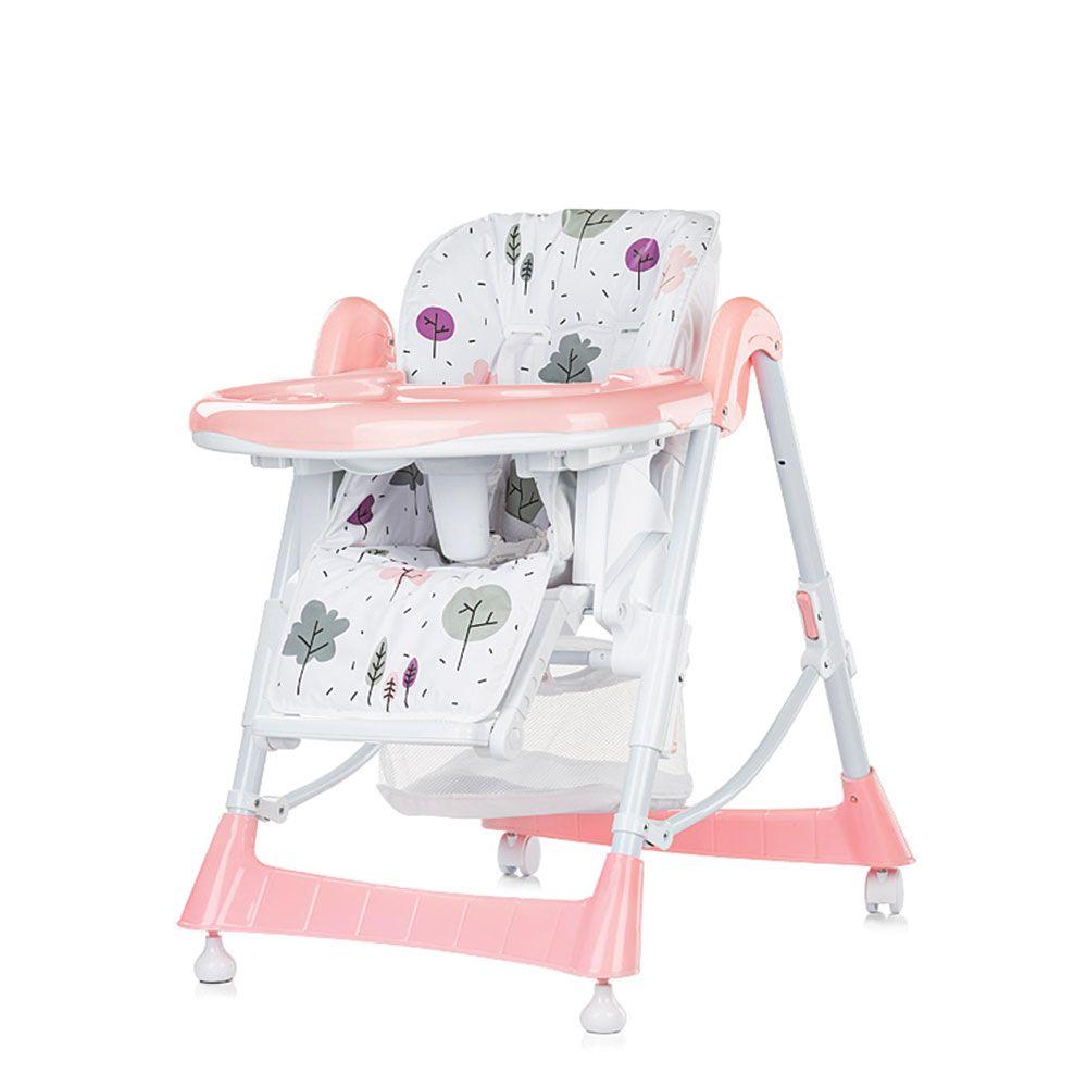 Scaun de masa Chipolino Comfort Plus 2018 pink imagine hippoland.ro