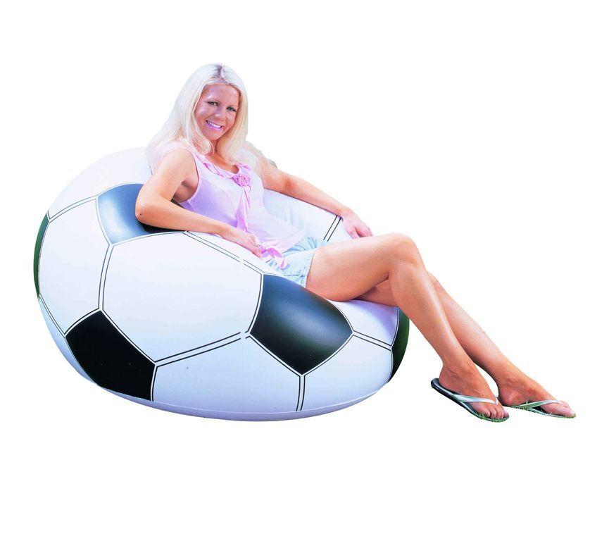 Scaun gonflabil tip minge de fotbal Bestway imagine hippoland.ro