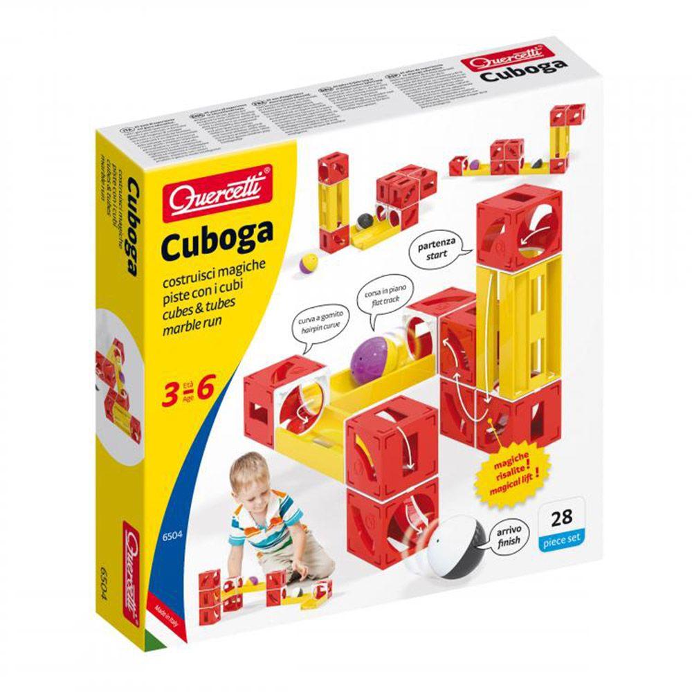 Set 26 piese Quercetti Cuboga 6504 imagine hippoland.ro