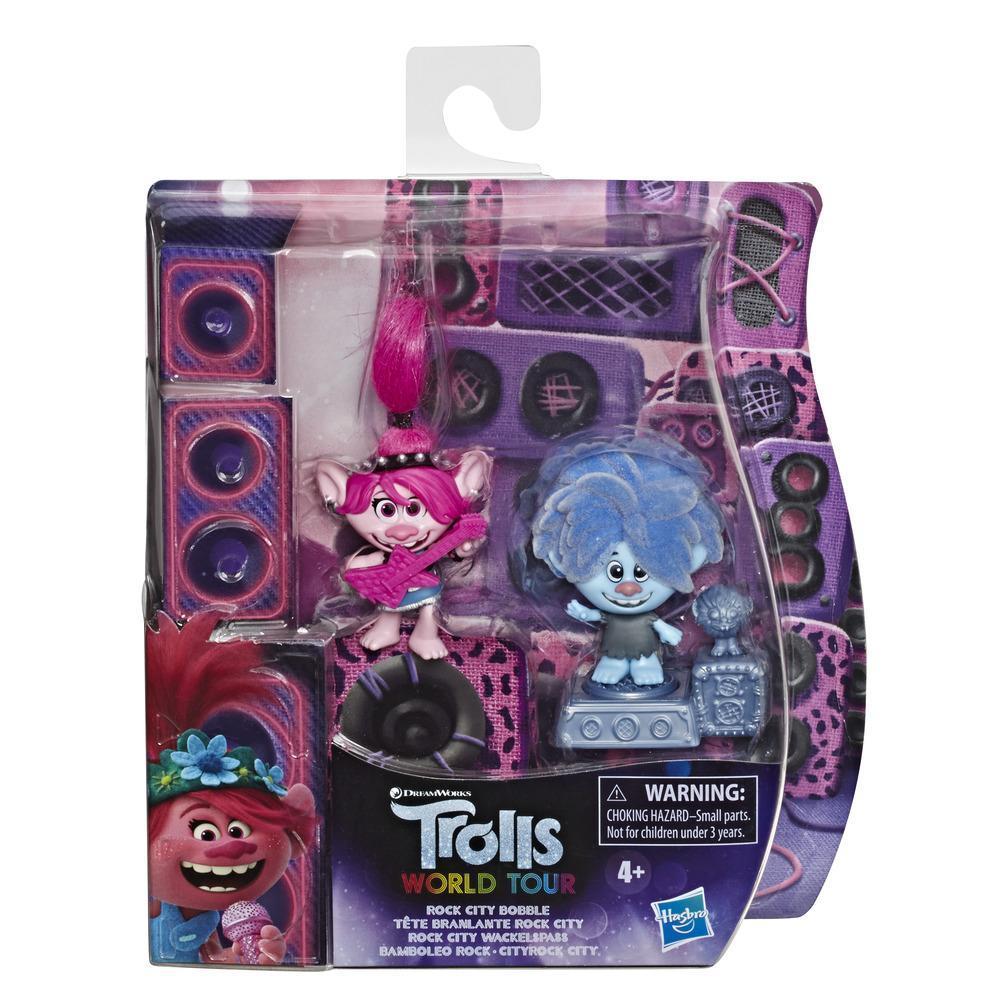 Set 2 figurine Hasbro Trolls Bobble