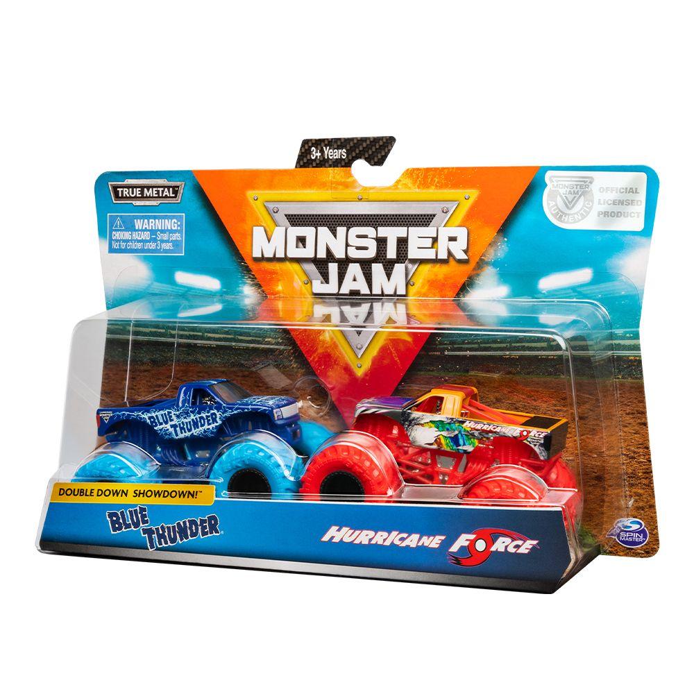 Set 2 masinute metalice Monster Jam 1:64 imagine hippoland.ro