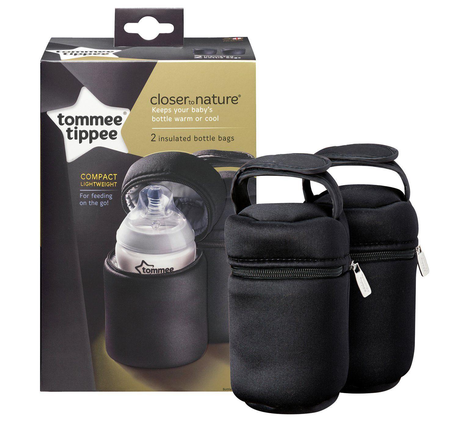 Set 2 termoizolatoare pentru biberoane Tommee Tippee