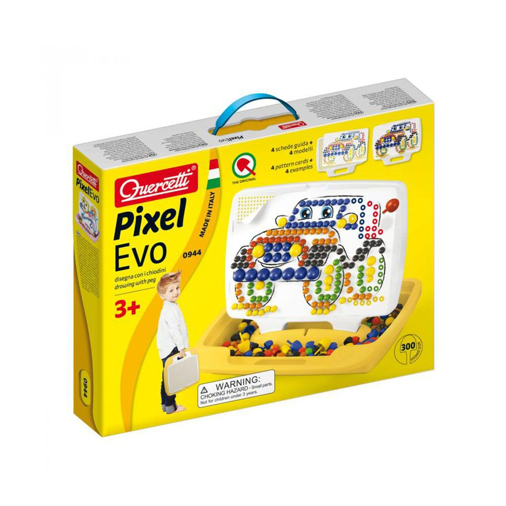 Set 300 piese Quercetti EVO cu valiza 944 imagine hippoland.ro