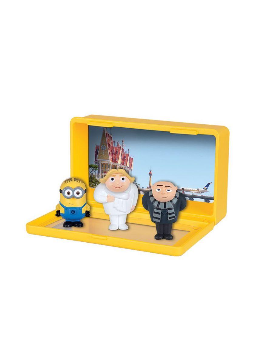Set 3 mini figurine minioni imagine hippoland.ro