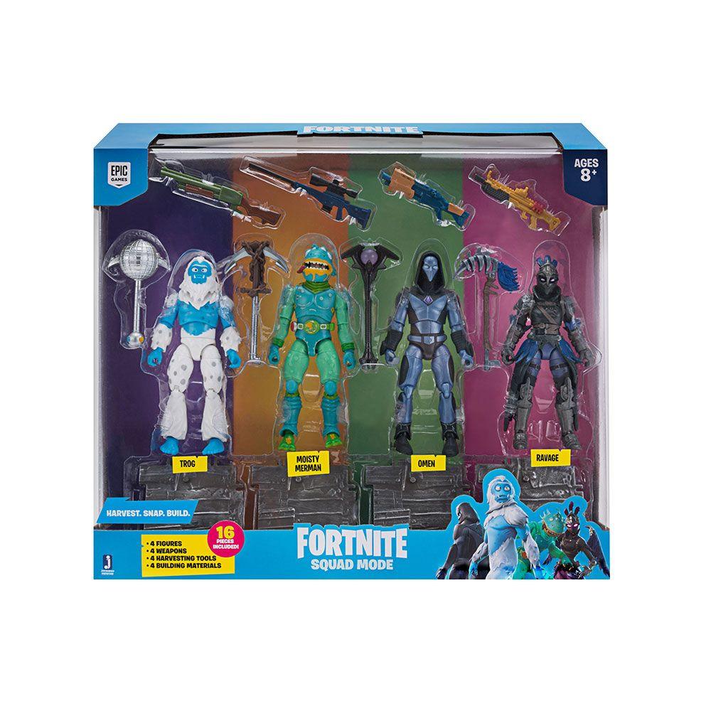 Set 4 figurine Fortnite S2 Squad Mode imagine hippoland.ro